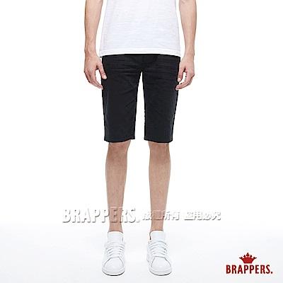 BRAPPERS 男款 HC Cargo系列-中腰彈性五分短褲-黑