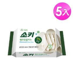 【韓國 MKH無窮花】抹布去油汙家事清潔皂 5入
