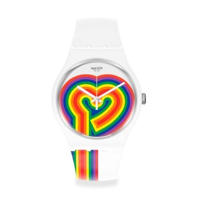 Swatch New Gent 原創系列 BEATING LOVE 熱戀-41mm