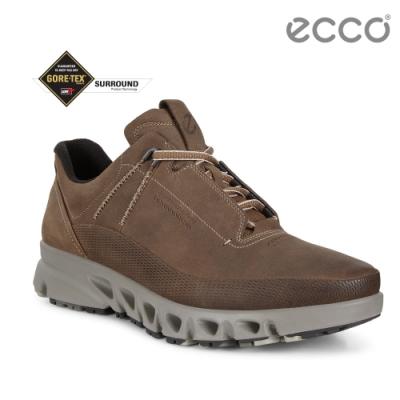 ECCO MULTI-VENT 全方位城市戶外運動休閒鞋 男-深褐