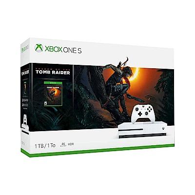 Xbox One X 1TB – 《古墓奇兵:暗影》同捆組