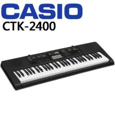 CASIO CTK-2400 /61鍵電子琴/公司貨保固