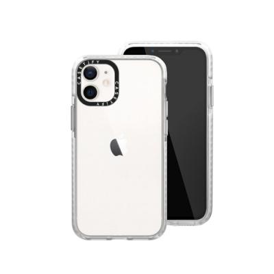 Casetify iPhone 12 mini 耐衝擊保護殼-透明