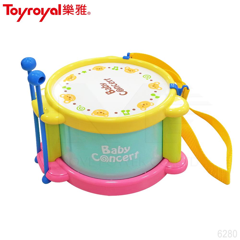 【任選】日本《樂雅 Toyroyal》小樂隊歡樂太鼓(兒童小鼓)