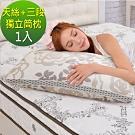 LooCa 名媛天絲三段式獨立筒枕-1入