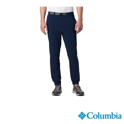 Columbia 哥倫比亞 男款 - Omni-Shade 防曬50彈性運動長褲-深藍   UAE03380NY