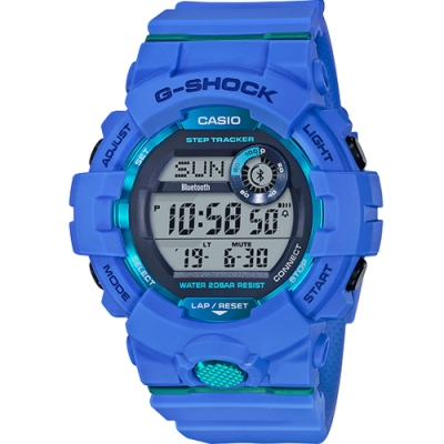 G-SHOCK 數位顯示手機藍牙連線功能錶(GBD-800-2)