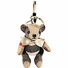 BURBERRY THOMAS 軍旅背包造型泰迪熊吊飾(駝色)
