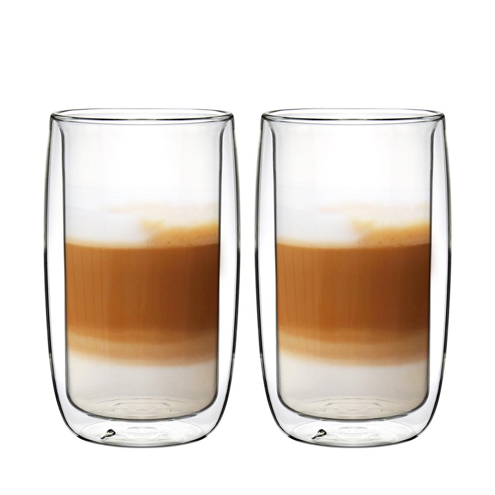 [買一送一]FUSHIMA富島 英倫系列雙層耐熱玻璃杯450ML