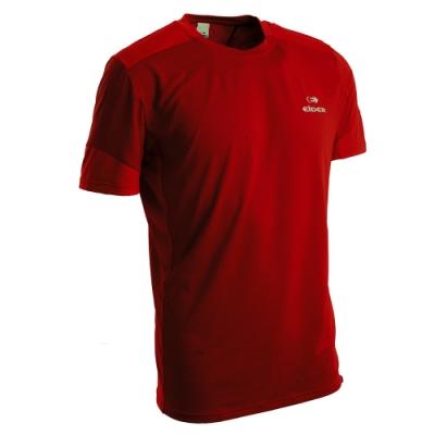 法國【EiDER】男排汗透氣短袖圓領衫 /  EIT1652紅