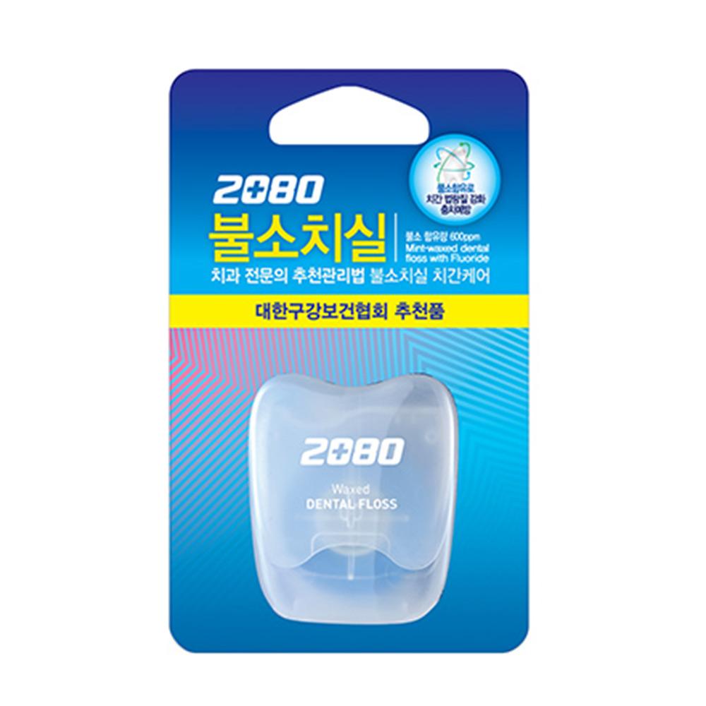 韓國2080 寬扁線含氟防蛀潔牙線40M
