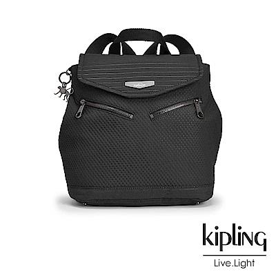 Kipling 後背包 復古奘黑-小