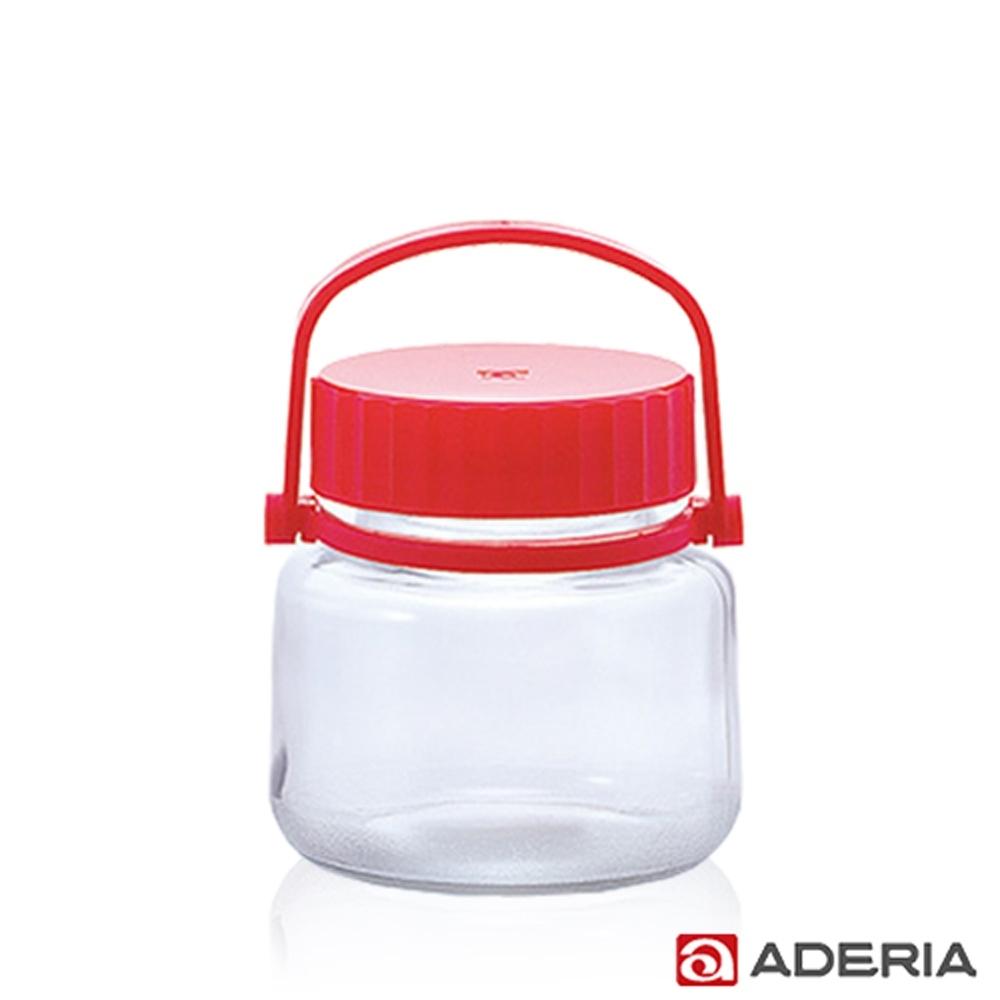 ADERIA 日本進口玻璃梅酒儲存瓶1L