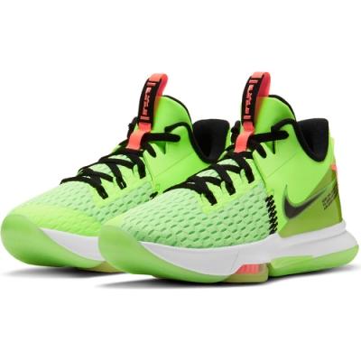 NIKE 籃球鞋  運動鞋 緩震 包覆 男鞋 綠 CQ9381300 LEBRON WITNESS V EP