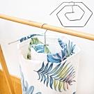時時樂限定 [買一送一]EZlife日式不鏽鋼螺旋曬床單被架 共2入(再贈無痕雙層拖鞋架)