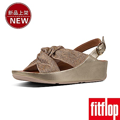 FitFlop TWISS CRYSTAL BACK-STRAP-金鉑色