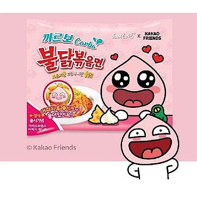 kakao Friends粉紅辣雞奶油乾炒拉麵130gx5包