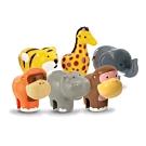 英國驚奇玩具 WOW Toys 小玩偶 - 草原動物好朋友
