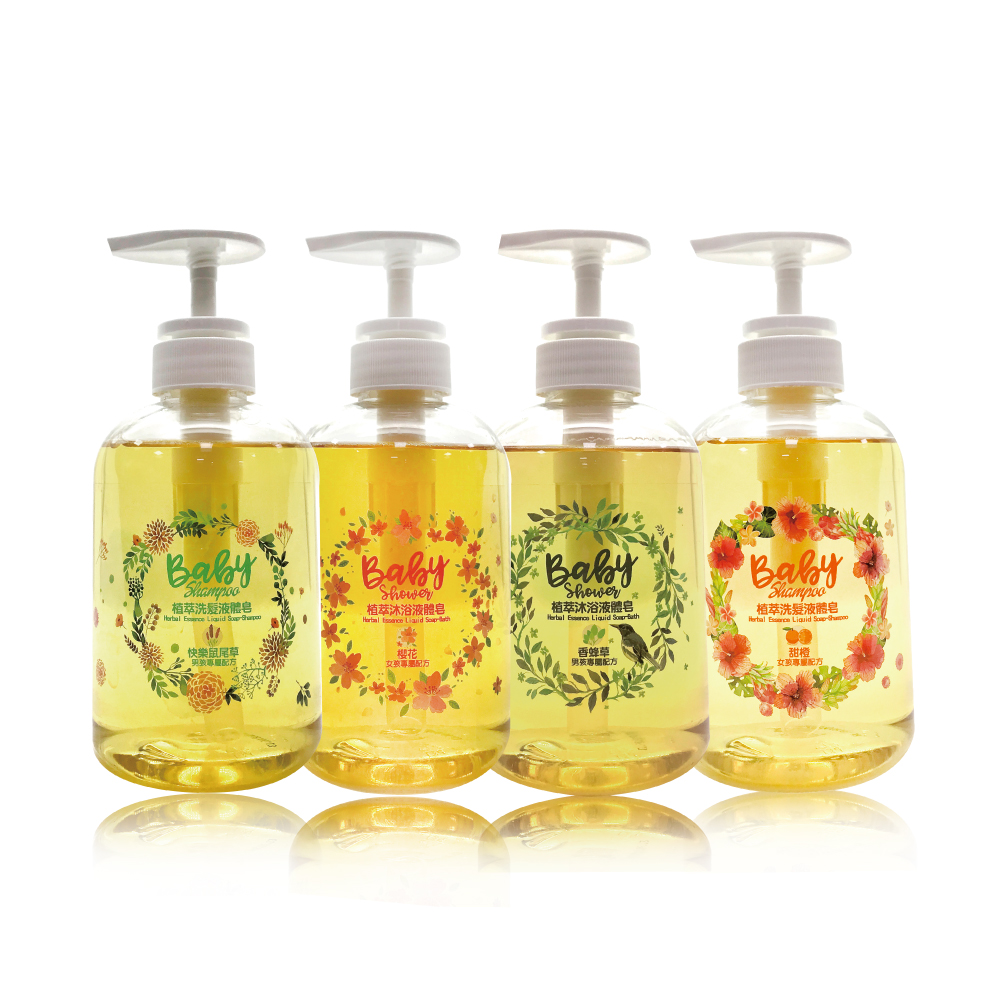 愛你所愛 植萃液體皂 400ml - 2入組 台灣製 敏感肌可用