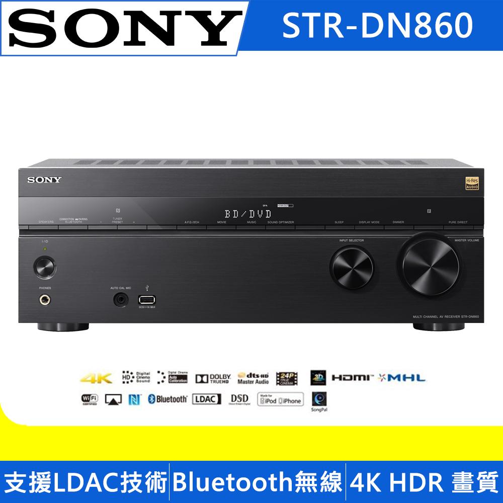 SONY 7.2ch環繞擴大機 STR-DN860
