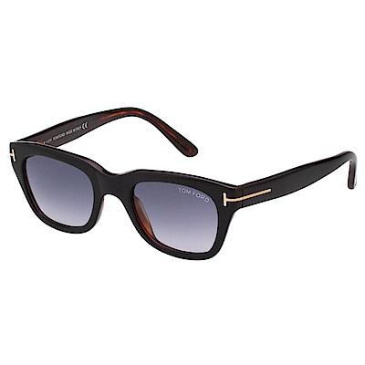 TOM FORD 中性款 太陽眼鏡-黑色-TOM237