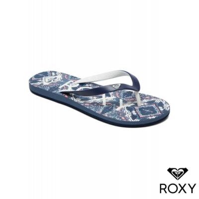 【ROXY】TAHITI VI 夾腳拖 海軍藍