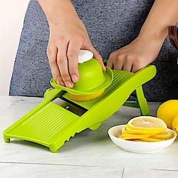 PUSH!廚房用品新款旋鈕可調節厚度切薯條切絲切片器D162
