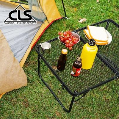韓國CLS 超堅固 折疊收納露營耐熱網桌 洞洞桌 折疊桌 烤肉桌