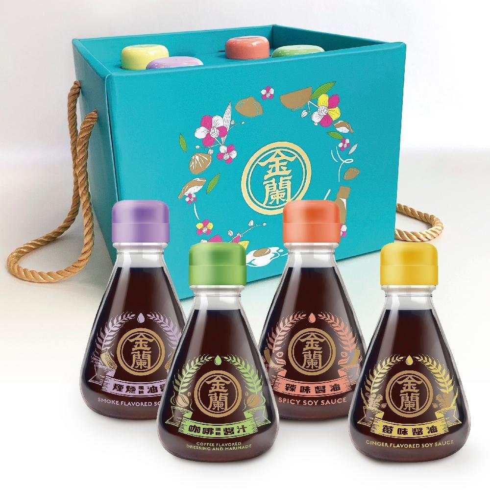 金蘭 享食風味醬禮盒1690g(4罐/盒)