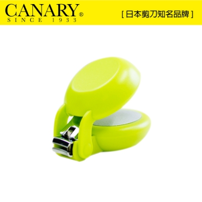 【日本CANARY】HARAC安心剪刀-蘋果綠