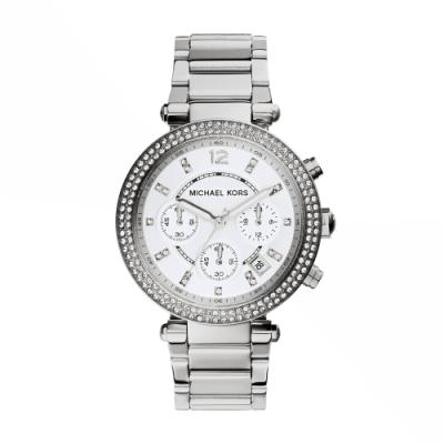 MICHAEL KORS紐約時尚三眼計時腕錶/MK5353
