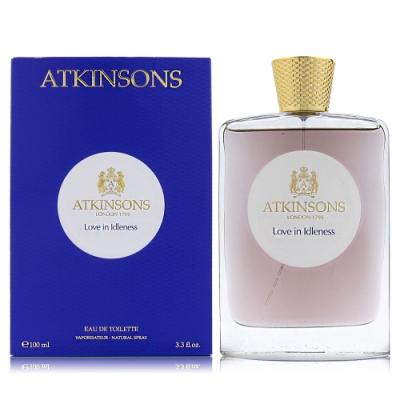 ATKINSONS LOVE IN IDLENESS仙王的三色堇EDT100ML贈同品牌隨機針管3入