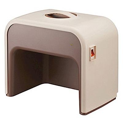 日本 DOSHISHA足部電暖器-卡其色(CHMS-011-BR)