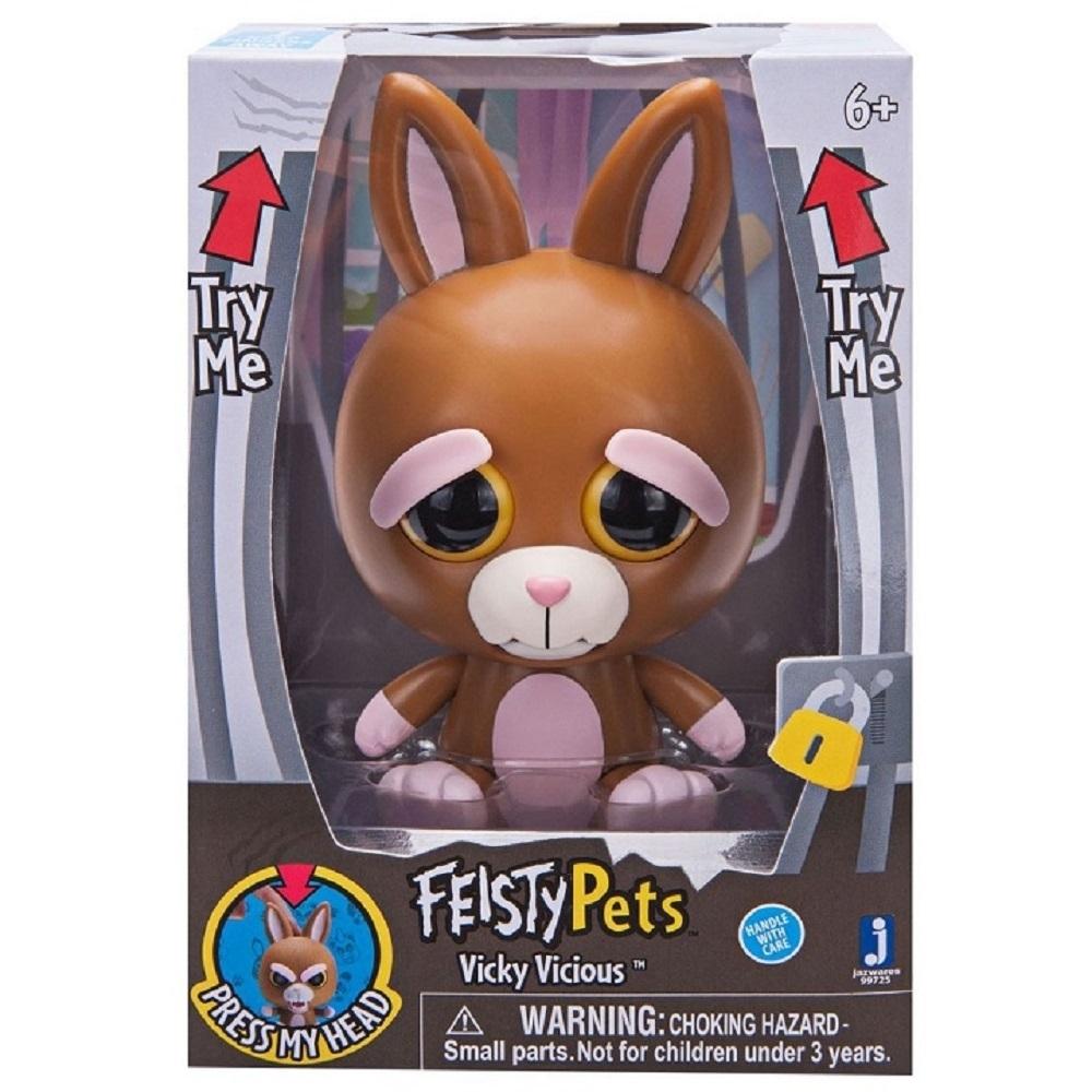 變臉娃娃 Feisty Pets 4吋公仔 -小兔子 Vicky Vicious