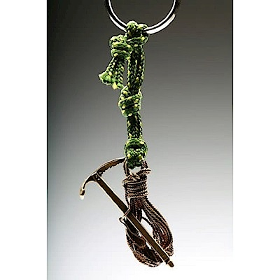 SAC #15 青銅鑰匙圈掛飾 繩索+冰斧