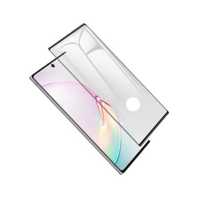 Samsung三星 Note10+ 6.8吋 6D熱彎曲面滿版全覆蓋 鋼化玻璃膜保護貼