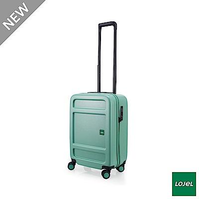 LOJEL JUNA 21吋 行李箱 雙齒防盜防爆拉鍊 飛機輪 草綠色
