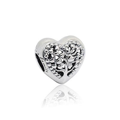Pandora 潘朵拉 鏤空愛心樹 純銀墜飾 串珠