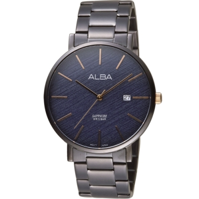 ALBA 雅柏 自信品味時尚男錶(J42-X297B AS9K63X1)