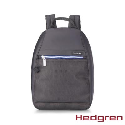 【Hedgren】INNER CITY旅行防盜 後背包-藍白灰