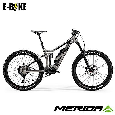 《MERIDA》美利達 eONE-SIXTY 800 電動輔助自行車 銀黑 2019