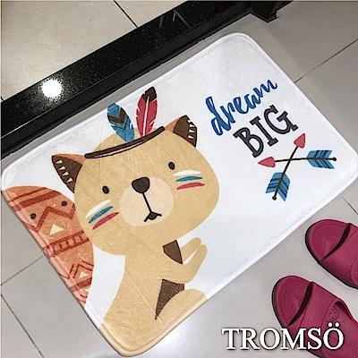 TROMSO簡單生活超柔軟舒適地墊-M62獵人狸貓