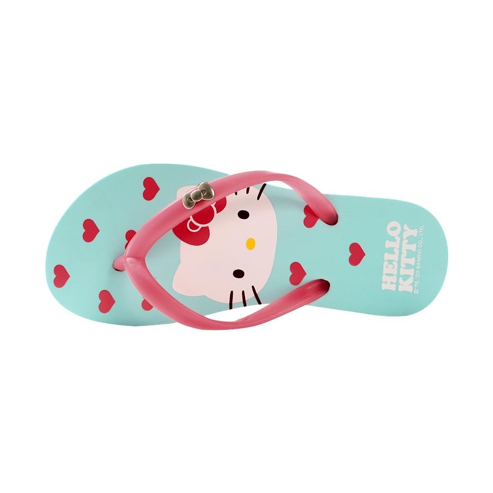 魔法Baby台灣製Hello kitty正版夾腳拖鞋 人字拖sd7212