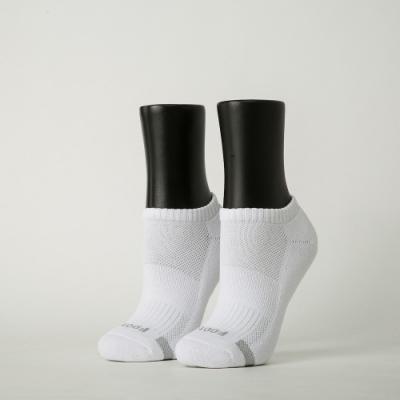 Footer除臭襪-單色運動逆氣流氣墊船短襪-六雙入(黑*2+白*2+藍*2)