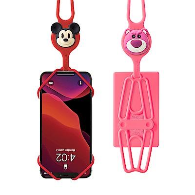 【BONE】迪士尼通用手機綁-含卡套- IPHONE、安卓適用