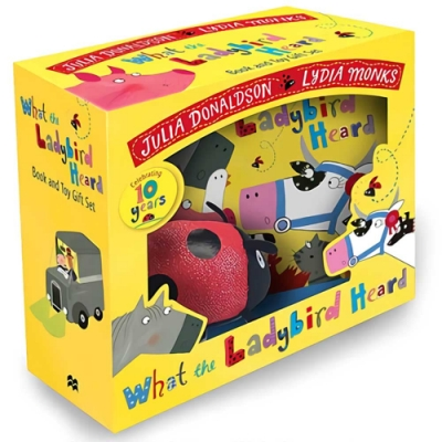 What the Ladybird Heard Book And Toy Gift Set 瓢蟲的農場守護記禮物書