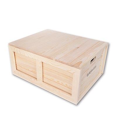 WASHAMl-小工匠萬用松木創意工業風併接箱
