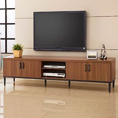 D&T德泰傢俱 愛維斯北歐生活7尺電視櫃-212x45x52.5cm