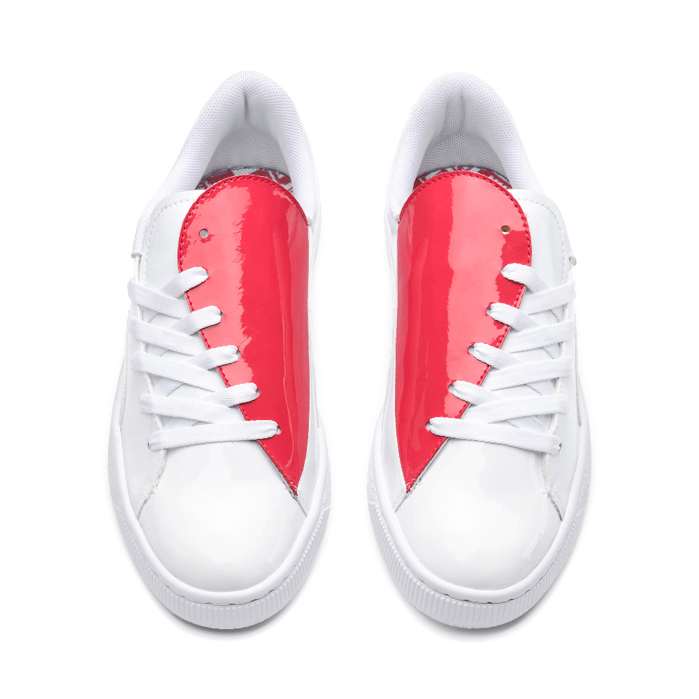PUMA-Basket Crush Wn s 女性復古籃球運動鞋-白色