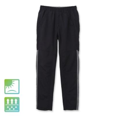 Hang Ten - 男裝 - ThermoContro吸濕快乾錐型機能褲-黑